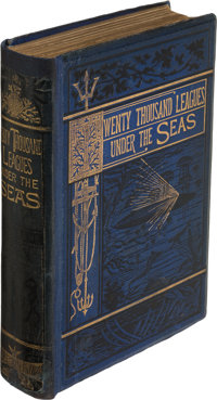 Jules Verne. Twenty Thousand Leagues Under the Seas. London: Sampson, Low, Marston, Low, & Sear
