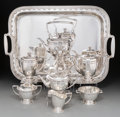 Silver & Vertu:Hollowware, An Eight-Piece Tiffany & Co. Saint Dunstan Pattern Silver Tea and Coffee Service, New York City, circa 1909-1947... (Total: 8 Items)
