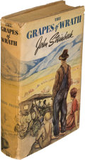 Books:Literature 1900-up, John Steinbeck. The Grapes of Wrath. New York: The VikingPress, [1939]. First edition....