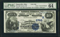 Zanesville, OH - $10 1882 Value Back Fr. 577 The Old Citizens NB Ch. # (M)5760