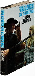 Books:Literature 1900-up, Elmore Leonard. Valdez Is Coming. London: [1969]. FirstEnglish edition (and first in hardcover), signed....