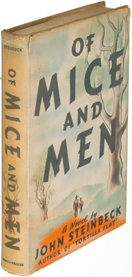 John Steinbeck. Of Mice and Men. New York: [1937]. First edition