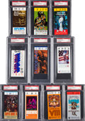 Football Collectibles:Tickets, 1967-2008 Super Bowl Ticket Stubs Basic Set of 42.. ...