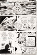 Original Comic Art:Panel Pages, Curt Swan and John Calnan World's Finest #234 Partial StoryOriginal Art Group of 7 (DC, 1975).... (Total: 7 Original Art)
