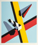 Allan D'Arcangelo (1930-1998) Reflection, 1978 Screenprint in colors on paper 27 x 23-5/8 inches (68.9 x 60 cm) (imag