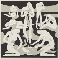 Cleon Peterson (b. 1973) Virgins (White), 2017 Screenprint in colors on paper 28 x 28 inches (71