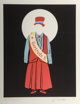 Robert Indiana (b. 1928) Gertrude Stein, 1977 Lithograph in colors on Arches paper 17-7/8 x 14 inches (45.6 x 35.6 cm