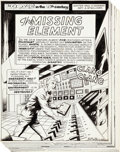 "Original Comic Art:Panel Pages, Al McWilliams Buck Rogers in the 25th Century #5Near-Complete Story ""The Missing Element"" Original Art Group of2... (Total: 20 Original Art)"