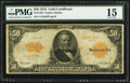 Large Size:Gold Certificates, Fr. 1199 $50 1913 Gold Certificate PMG Choice Fine 15.. ...