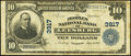 National Bank Notes:Virginia, Leesburg, VA - $10 1902 Plain Back Fr. 626 The Peoples NB Ch. #3917. ...