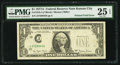 Error Notes:Foldovers, Printed Fold Error Fr. 1910-J $1 1977A Federal Reserve Note. PMGVery Fine 25 EPQ.. ...