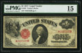 Large Size:Legal Tender Notes, Fr. 36* $1 1917 Legal Tender Star PMG Choice Fine 15.