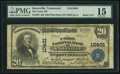 National Bank Notes:Tennessee, Knoxville, TN - $20 1902 Plain Back Fr. 656 The Union NB Ch. #10401. ...