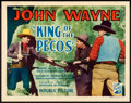"""Movie Posters:Western, King of the Pecos (Republic, 1936). Title Lobby Card (11"""" X 14"""").. ..."""