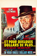 "Movie Posters:Western, For a Few Dollars More (United Artists, 1967). Belgian (14"" X 21"").. ..."