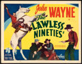 "Movie Posters:Western, The Lawless Nineties (Republic, 1936). Title Lobby Card (11"" X14"").. ..."