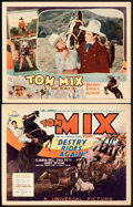 """Movie Posters:Western, Destry Rides Again (Universal, 1932). Title Lobby Card & LobbyCard (11"""" X 14"""").. ... (Total: 2 Items)"""