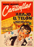 """Movie Posters:Foreign, Drop the Curtain (Columbia, 1955). Mexican One Sheet (27"""" X 37"""").. ..."""