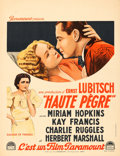 """Movie Posters:Comedy, Trouble in Paradise (Paramount, 1933). French Moyenne (23"""" X 29.5"""").. ..."""