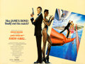 "Movie Posters:James Bond, A View to a Kill (United Artists, 1985). British Quad (30"" X 40"").Dan Gouzee Artwork.. ..."