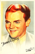 """Movie Posters:Miscellaneous, James Cagney & Bette Davis (Warner Brothers, Late 1930s). French Personality Moyennes (2) (25.75"""" X 39.5"""") Jacques Bonneau A... (Total: 2 Items)"""