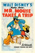 Movie Posters:Animated, Mr. Mouse Takes a Trip (RKO, 1941). One Sheet (27....