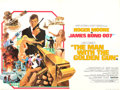 "Movie Posters:James Bond, The Man with the Golden Gun (United Artists, 1974). British Quad(30"" X 40"") Robert McGinnis Artwork.. ..."