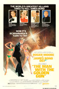 "Movie Posters:James Bond, The Man with the Golden Gun (United Artists, 1974). One Sheet (27"" X 41"") Style B, Villains Style, Tom Jung Artwork.. ..."