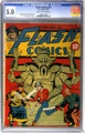 Flash Comics #22 (DC, 1941) CGC VG/FN 5.0 Cream to off-white pages