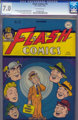Flash Comics #76 (DC, 1946) CGC FN/VF 7.0 Off-white pages