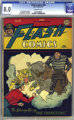 Flash Comics #84 (DC, 1947) CGC VF 8.0 Off-white pages
