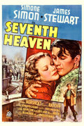"Movie Posters:Romance, Seventh Heaven (20th Century Fox, 1937). One Sheet (27.5"" X 41"")Style A.. ..."
