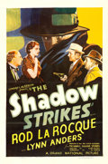 "Movie Posters:Mystery, The Shadow Strikes (Grand National, 1937). One Sheet (27"" X 41"").. ..."