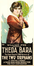 "Movie Posters:Drama, The Two Orphans (Fox, R-1918). Three Sheet (41"" X 79.5"").. ..."