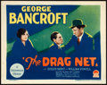 "Movie Posters:Crime, The Drag Net (Paramount, 1928) Very Fine. Title Lobby Card (11"" X 14""). Crime.. ..."