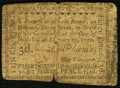 Colonial Notes:New York, New York- New York City February 20, 1790 3d Fine.. ...