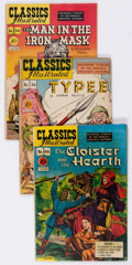 Golden Age (1938-1955):Classics Illustrated, Classics Illustrated First Editions Group of 17 (Gilberton,1947-53) Condition: Average VG.... (Total: 17 Comic Books)