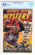 Silver Age (1956-1969):Mystery, Journey Into Mystery #76 (Marvel, 1962) CBCS VG+ 4.5 Off-white towhite pages....