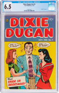 Golden Age (1938-1955):Romance, Dixie Dugan V4#3 (Prize, 1953) CGC FN+ 6.5 Off-white to whitepages....