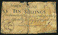 Colonial Notes:North Carolina, North Carolina March 9, 1754 10s Good-Very Good.. ...
