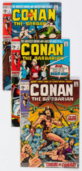 Bronze Age (1970-1979):Adventure, Conan the Barbarian Group of 12 (Marvel, 1970-72) Condition: Average VG.... (Total: 12 Comic Books)