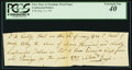 Colonial Notes:Mixed Colonies, Class Fines & Poundage Fiscal Paper May 12, 1781 $790 PCGSExtremely Fine 40.. ...