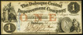 Obsoletes By State:Iowa, Dubuque, IA - Dubuque Central Improvement Company $1 Feb. 1, 1858Oakes 48-1. ...