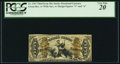 Fractional Currency:Third Issue, Fr. 1367 50¢ Third Issue Justice PCGS Very Fine 20.. ...