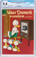 Silver Age (1956-1969):Cartoon Character, Walt Disney's Comics and Stories #220 (Dell, 1959) CGC NM 9.4Off-white to white pages....