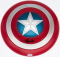 "Autographs:Others, Stan Lee Signed ""Captain America"" Shield. . ..."