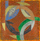 Frank Stella (b. 1936) Pumpkin Moonshine, from Polar Coordinates II (variant), 1979 Monotype in colors on Arches