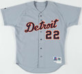 Baseball Collectibles:Uniforms, 1999 Justin Thompson Game Worn Detroit Tigers Jersey.. ...