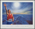 "Miscellaneous Collectibles:General, 1994 ""Victory"" Signed Lithograph with Neil Armstrong, Muhammad Ali and Others.. ..."