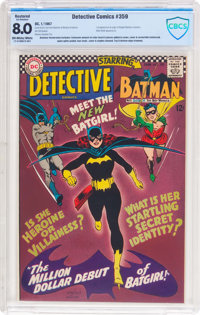 Detective Comics #359 (DC, 1967) CBCS Restored VF 8.0 Extensive (A) Off-white to white pages